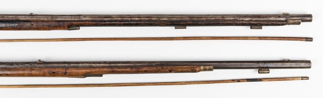 2 Kentucky Percussion Long Rifles - 6