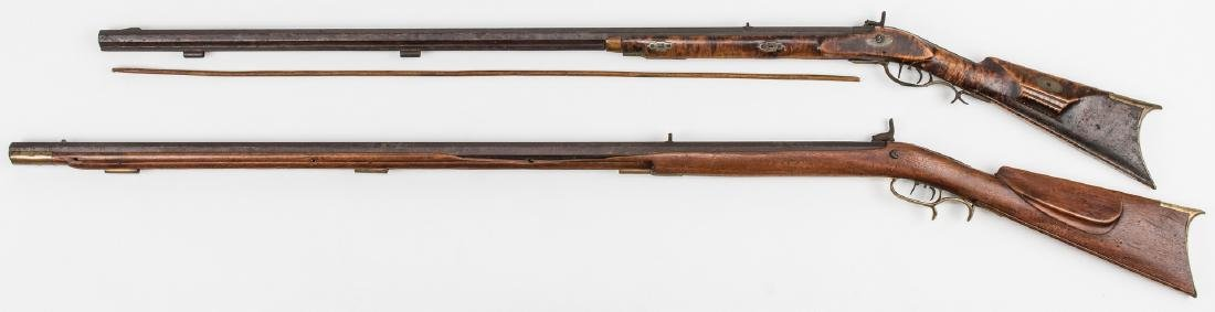 2 KY Percussion Long Rifles, incl. Pruitt Brother - 4