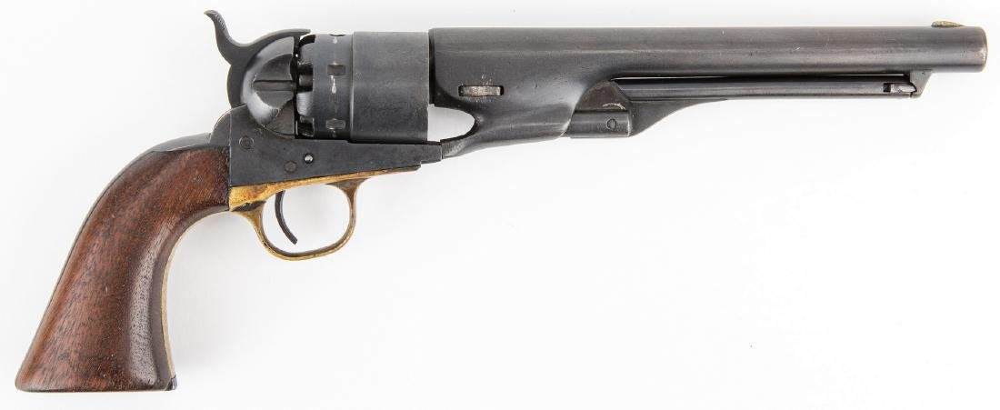 Mismatched Colt Model 1860 Army Revolver, .44 Caliber - 3