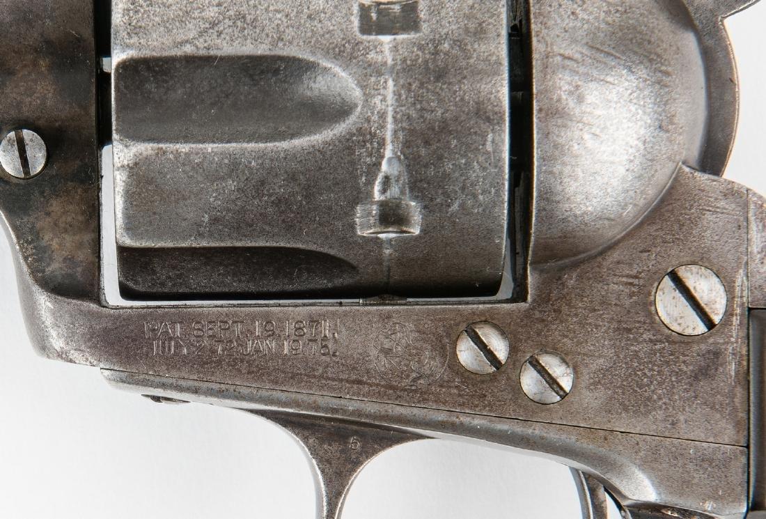 Colt Model P Single Action Army Revolver, .38-.40 - 10