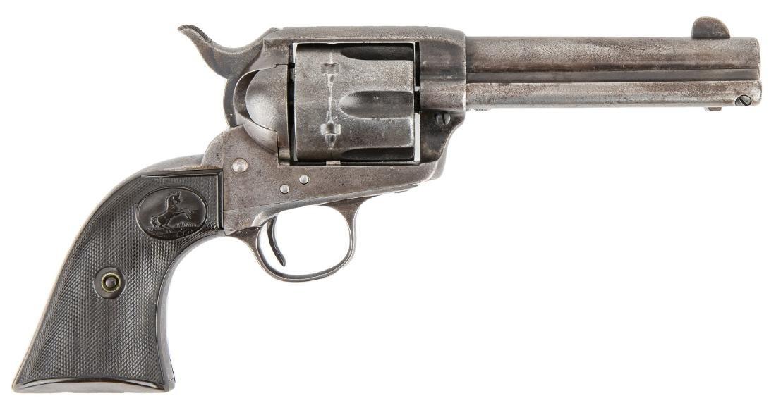 Colt Model P Single Action Army Revolver, .38-.40