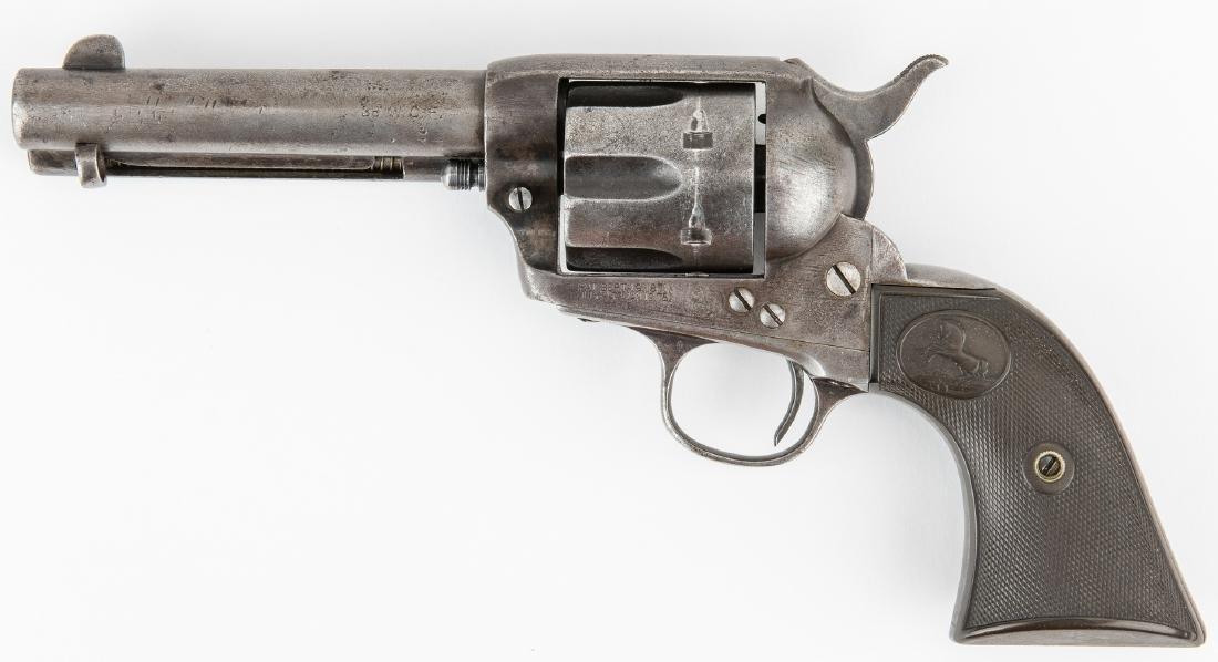 Colt Model P Single Action Army Revolver, .38-.40 - 2
