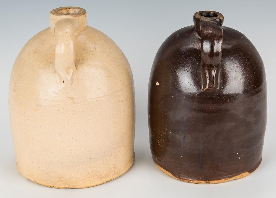 2 Kentucky Stoneware Whiskey Advertising Jugs - 3