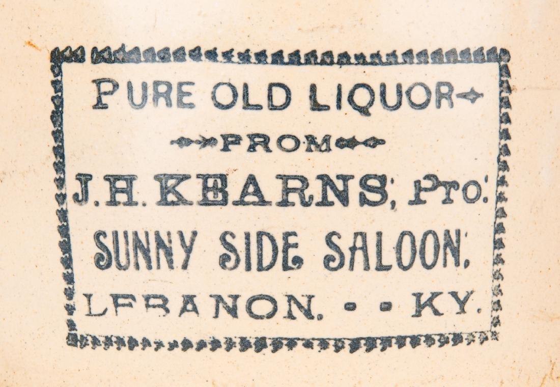 2 Kentucky Stoneware Whiskey Advertising Jugs - 6