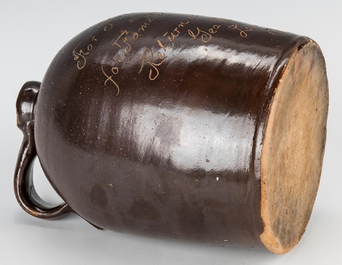 2 Kentucky Stoneware Whiskey Advertising Jugs - 8