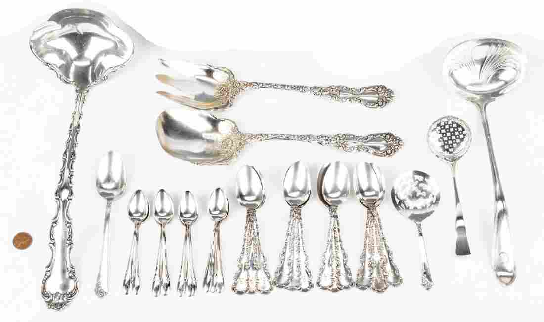 30 Pcs. Assorted Sterling Silver Flatware