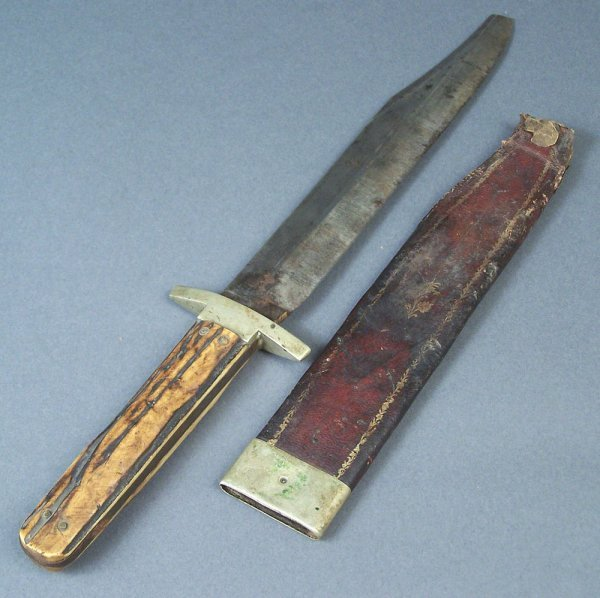 Wostenholm Bowie Knife, circa 1850