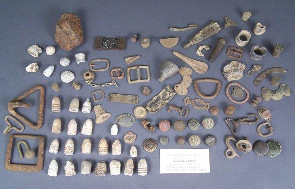 Civil War battle of Nashville relics, Stanley Horn