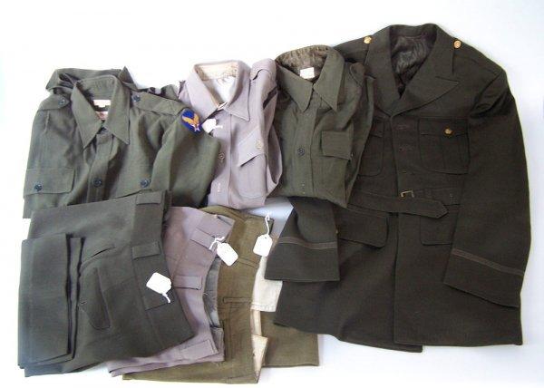 World War II era U.S. Army Clothing, Robert Hunter