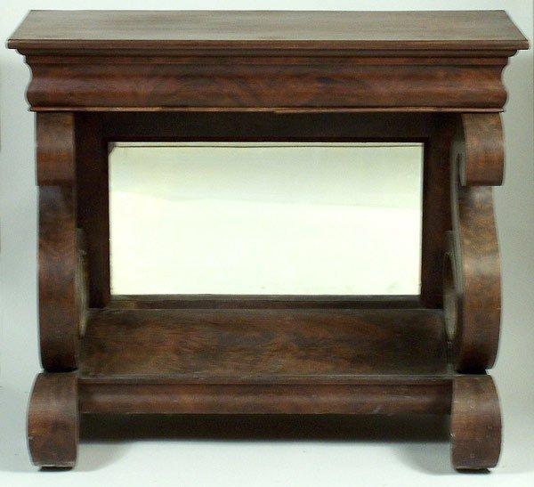 Classical mahogany pier table