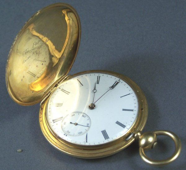 Vacheron & Constantin 18K gold pocketwatch