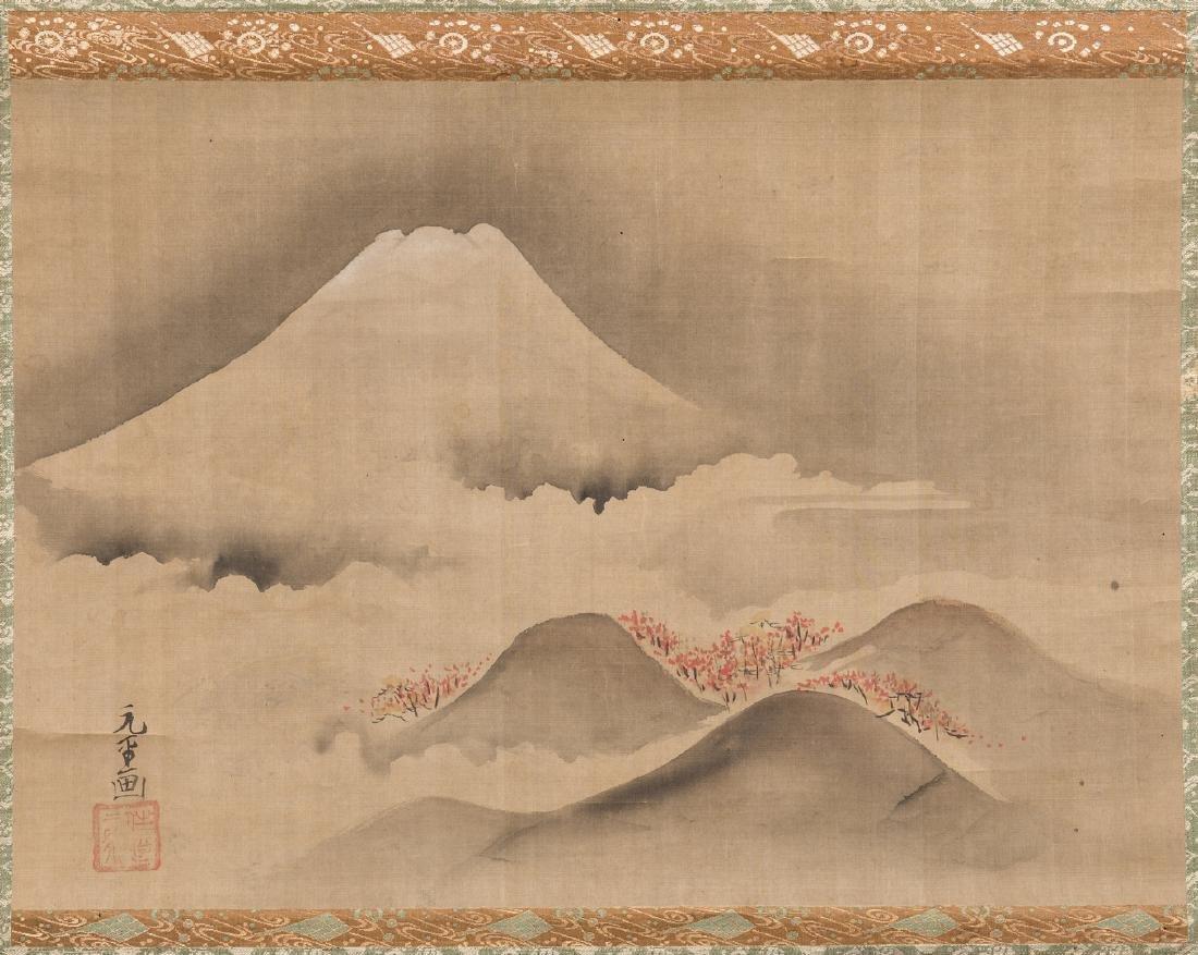Edo Scroll, Mount Fuji