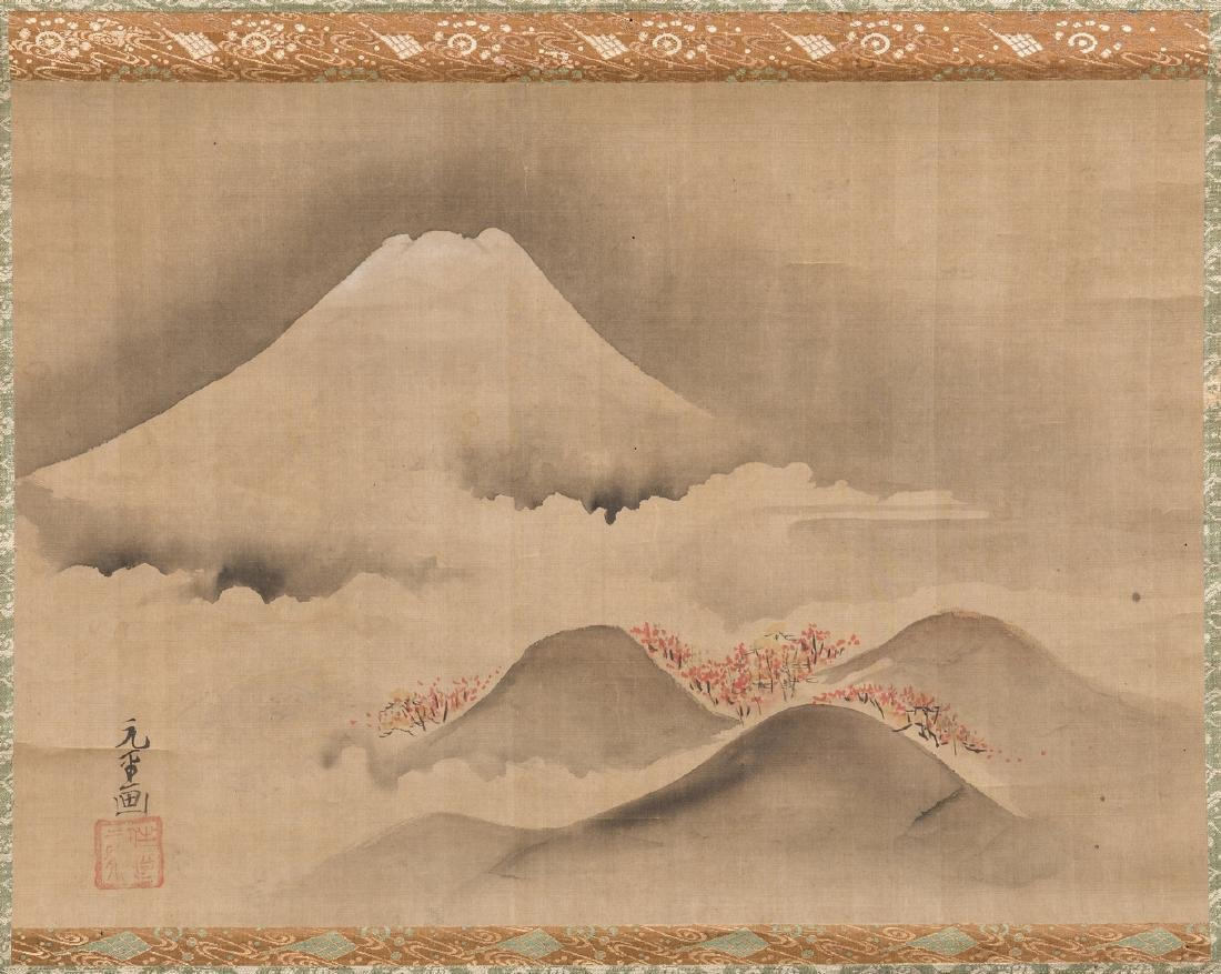 Edo Scroll, Mount Fuji