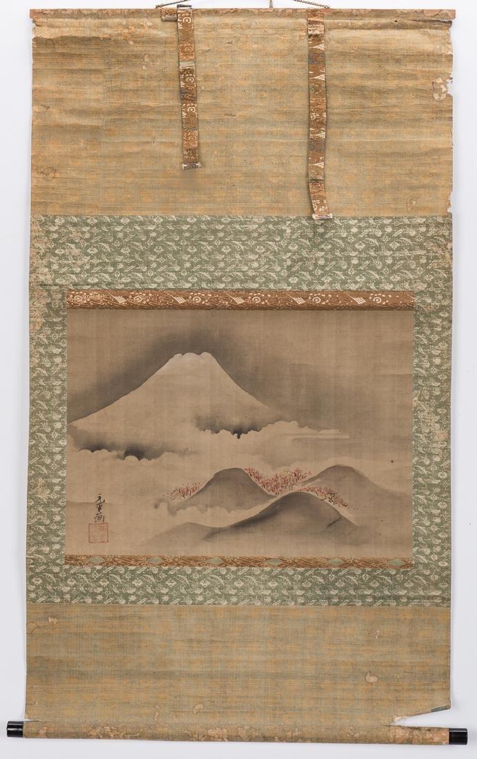 Edo Scroll, Mount Fuji - 2