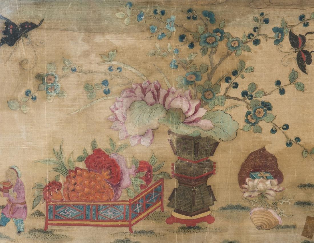 Panoramic Chinese Painting on Silk - 3
