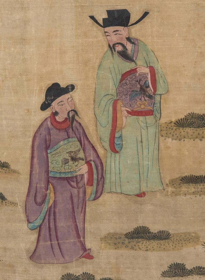 Panoramic Chinese Painting on Silk - 6