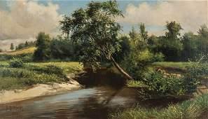 D. D. Coombs O/C, Maine Landscape Painting