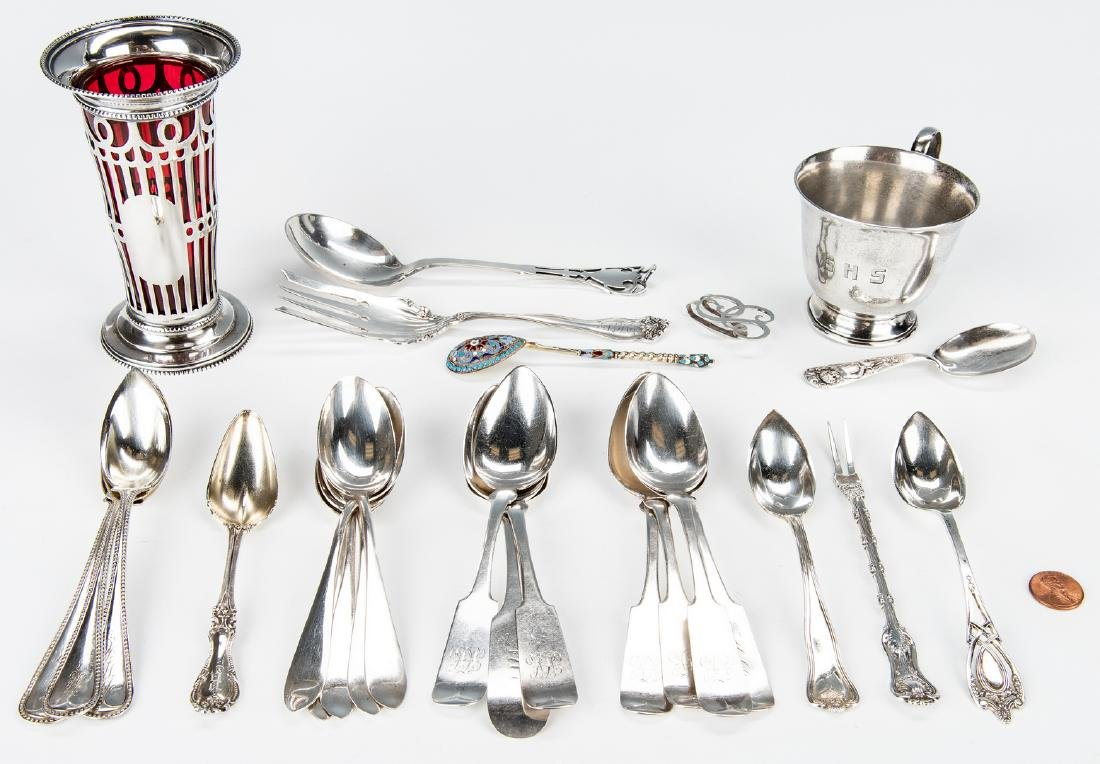 50 Items Assorted Sterling Flatware & other - 2