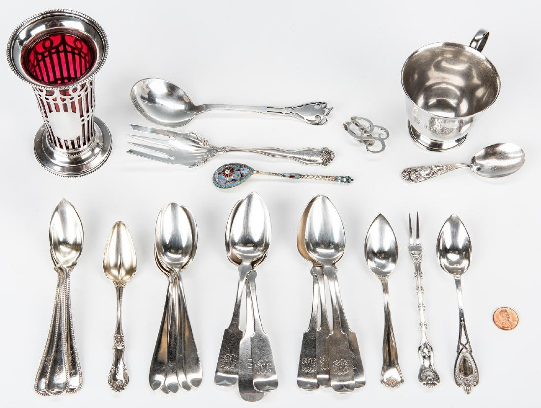 50 Items Assorted Sterling Flatware & other - 3