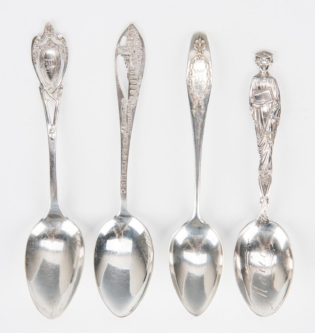 Group Sterling Silver Tableware & Flatware, 34 Pcs. - 8