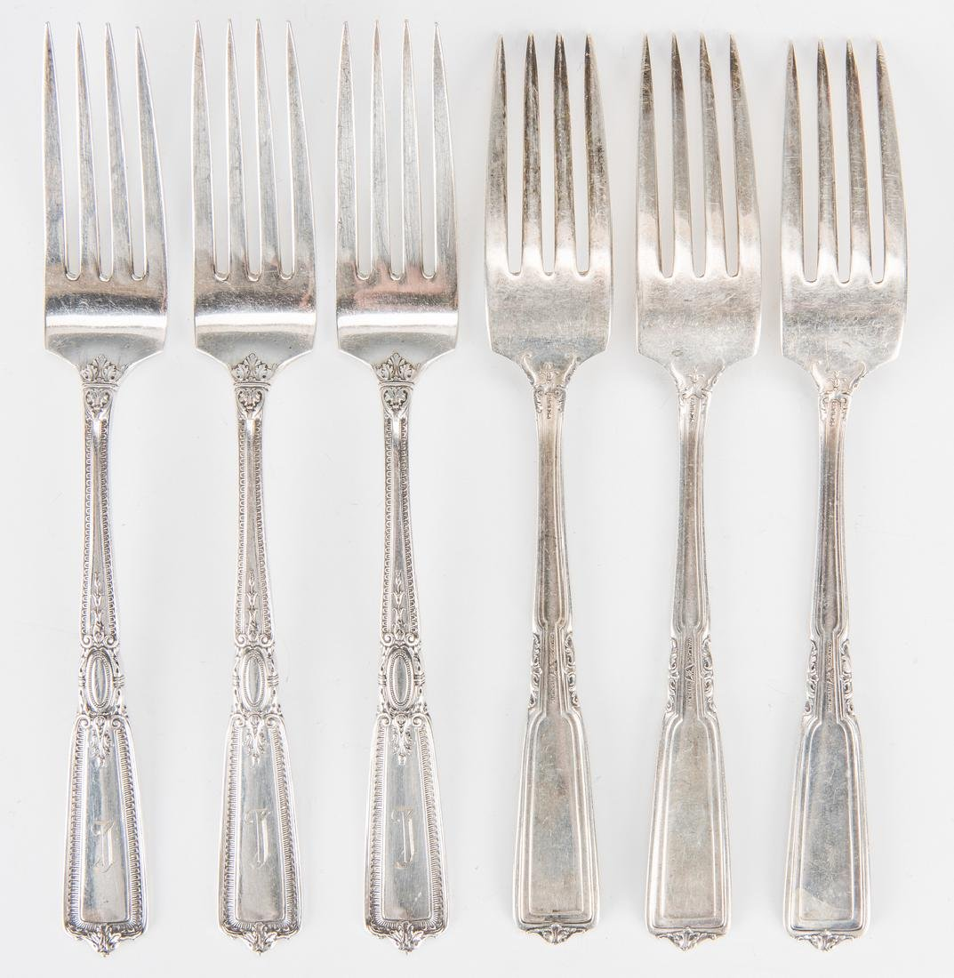 Group Sterling Silver Tableware & Flatware, 34 Pcs. - 9