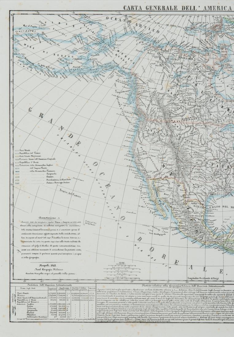 3 Maps of America, incl. Bowen, Marzolla - 10