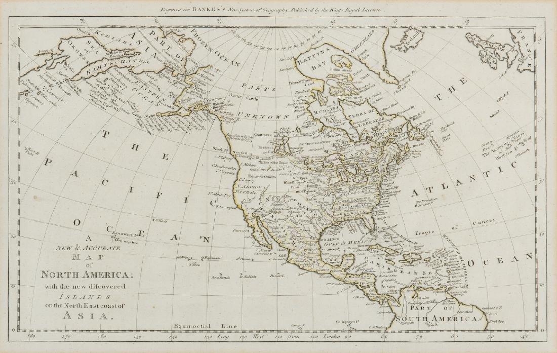 3 Maps of America, incl. Bowen, Marzolla - 2