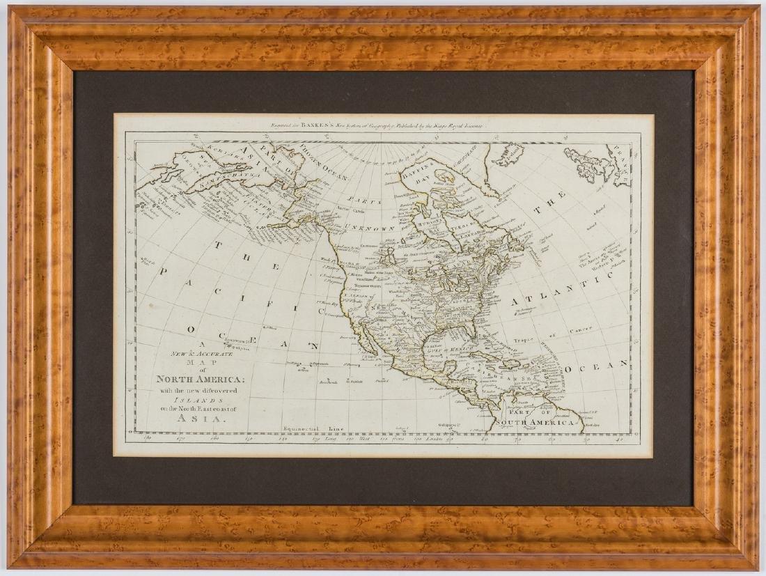 3 Maps of America, incl. Bowen, Marzolla - 5