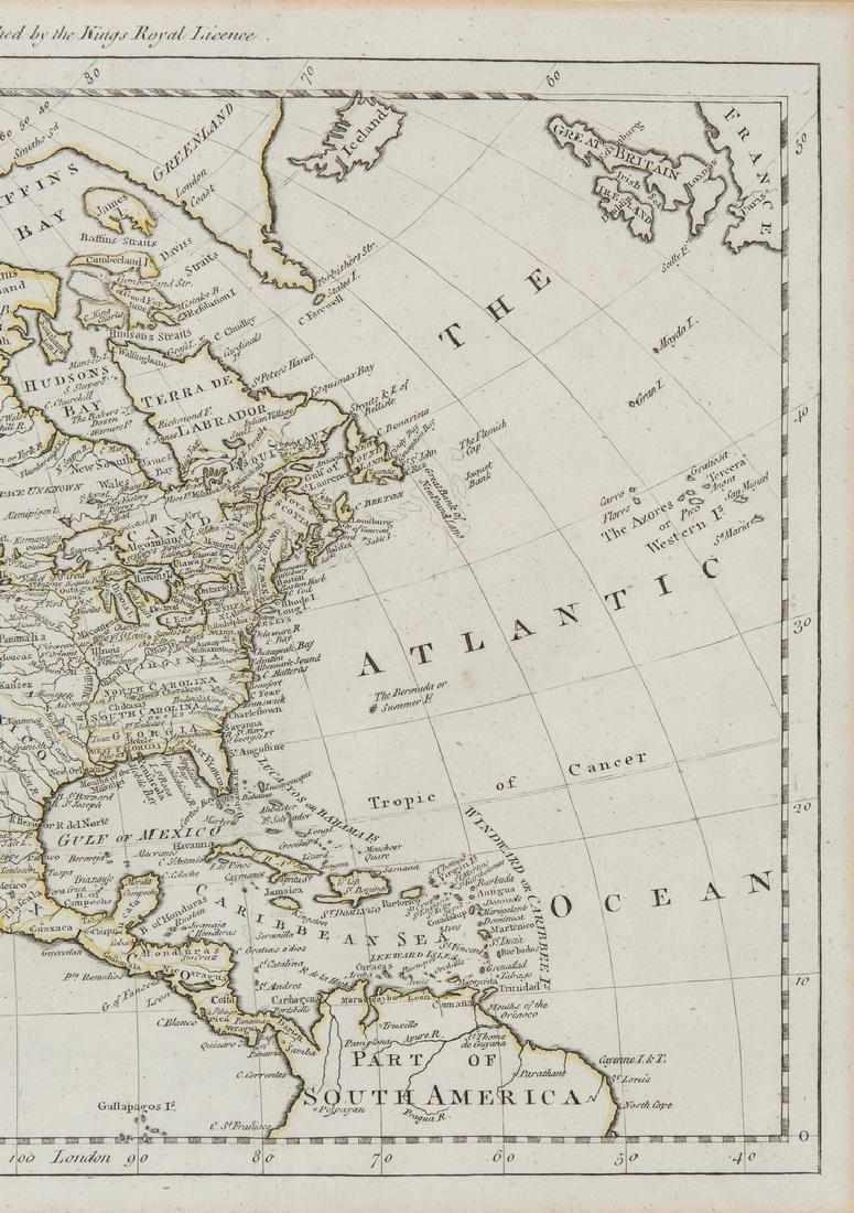 3 Maps of America, incl. Bowen, Marzolla - 7