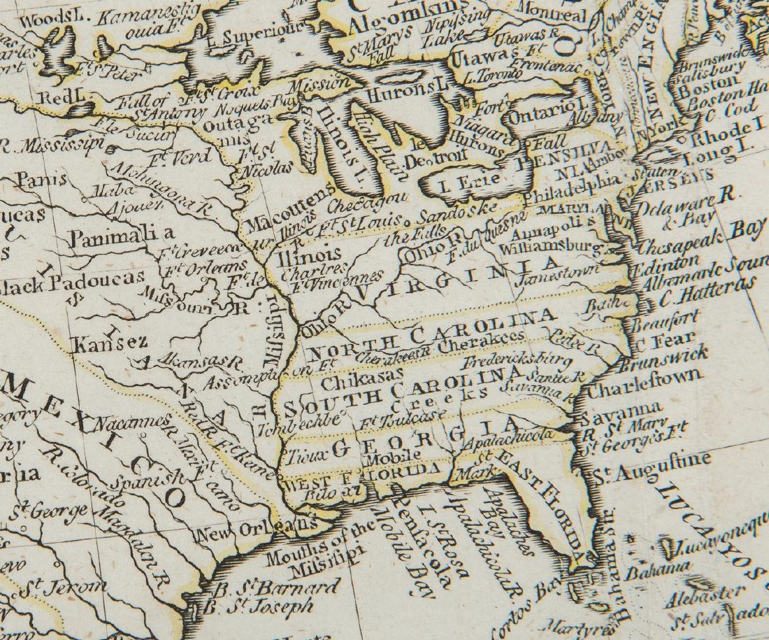 3 Maps of America, incl. Bowen, Marzolla - 8