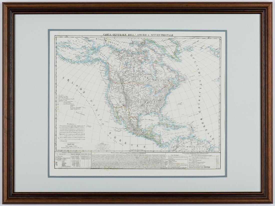 3 Maps of America, incl. Bowen, Marzolla - 9