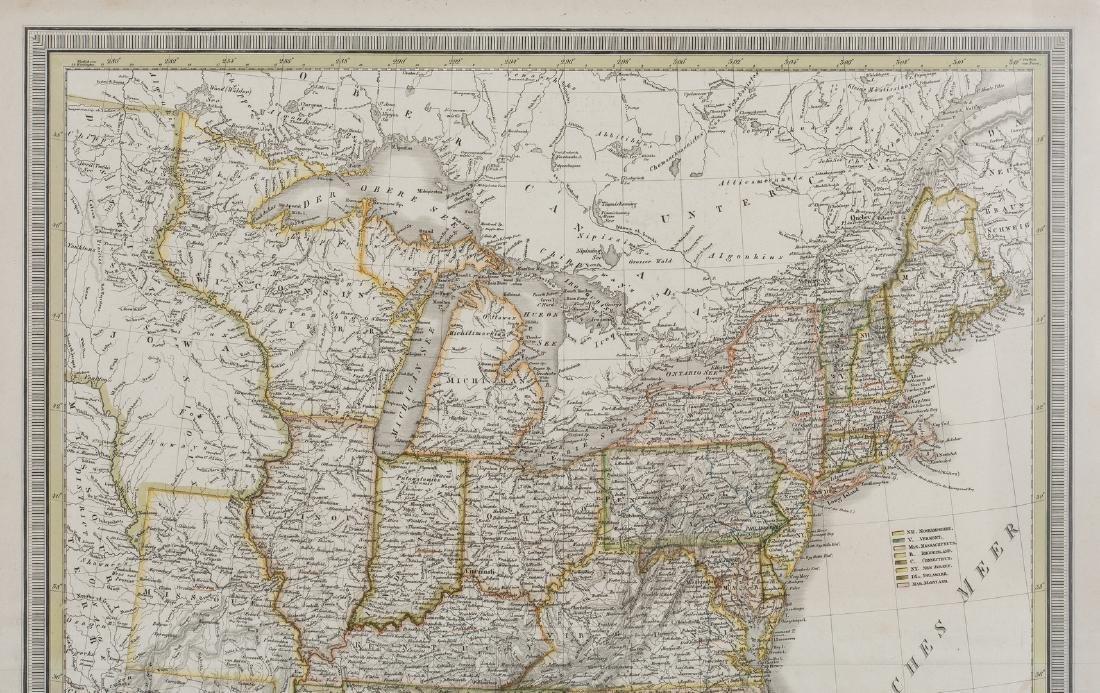 2 North America Maps, incl. Weiland, Walker - 10