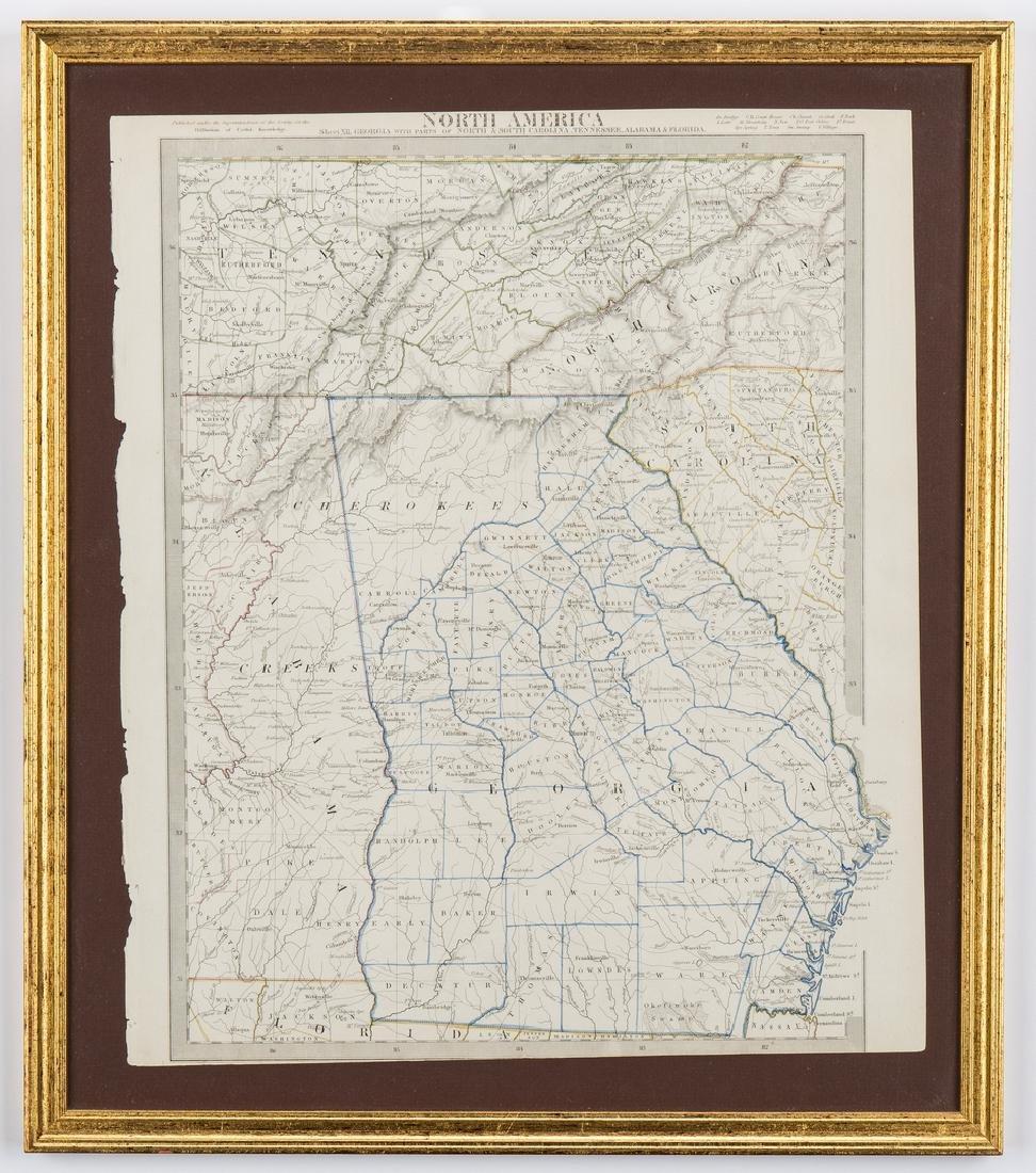 2 North America Maps, incl. Weiland, Walker - 2