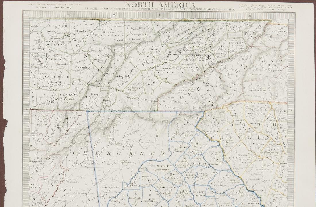 2 North America Maps, incl. Weiland, Walker - 5