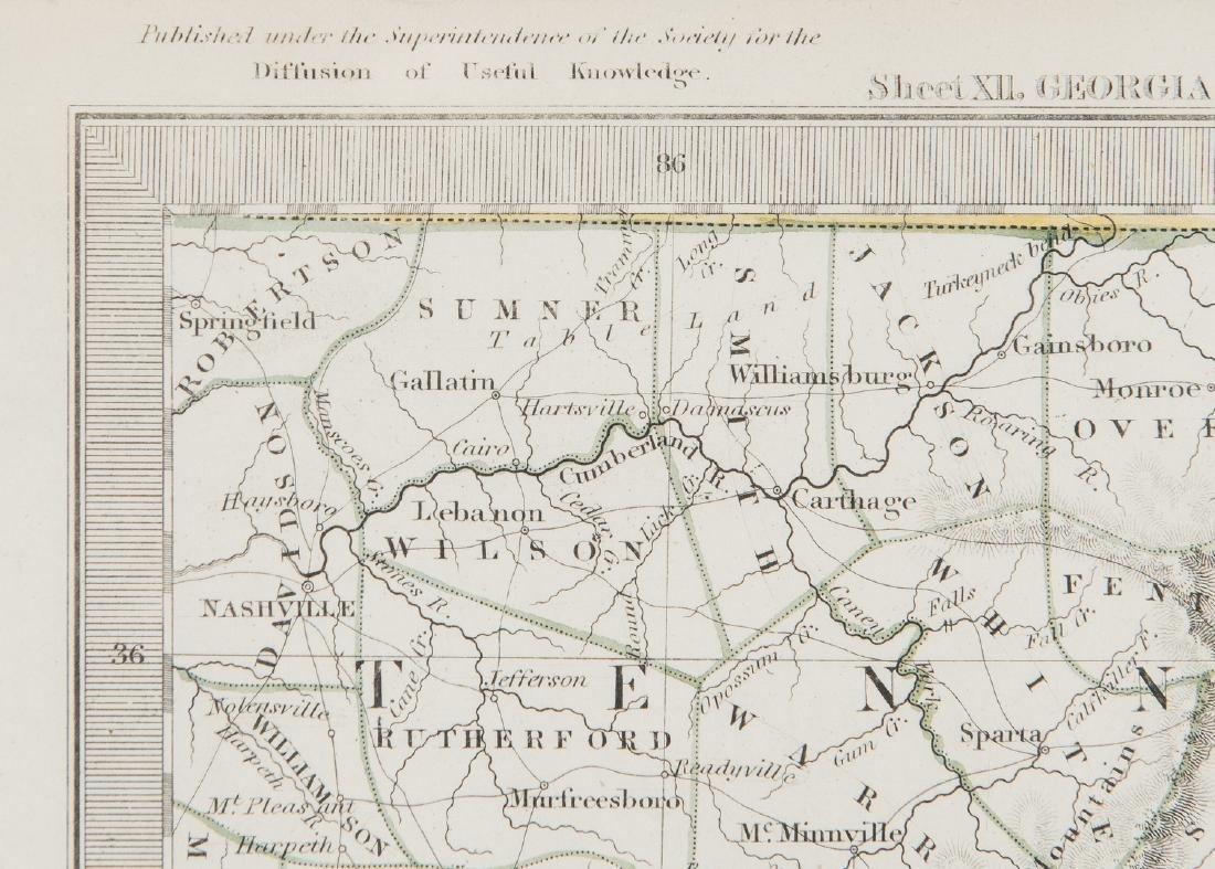 2 North America Maps, incl. Weiland, Walker - 8