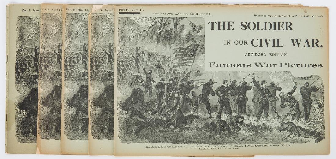 21 Civil War Related Paper Items, including Harper's - 10