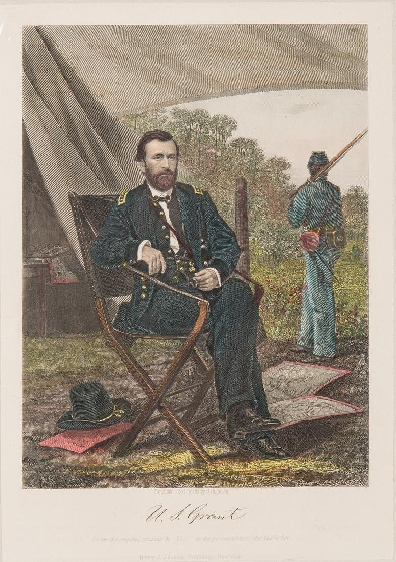 21 Civil War Related Paper Items, including Harper's - 4