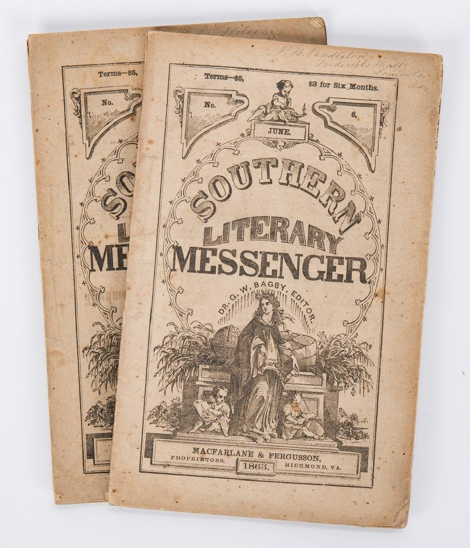 21 Civil War Related Paper Items, including Harper's - 6