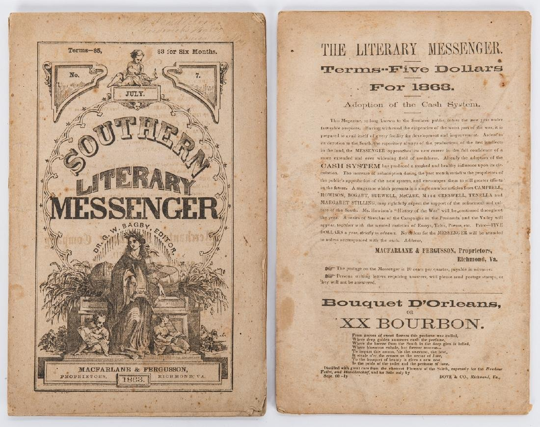 21 Civil War Related Paper Items, including Harper's - 7