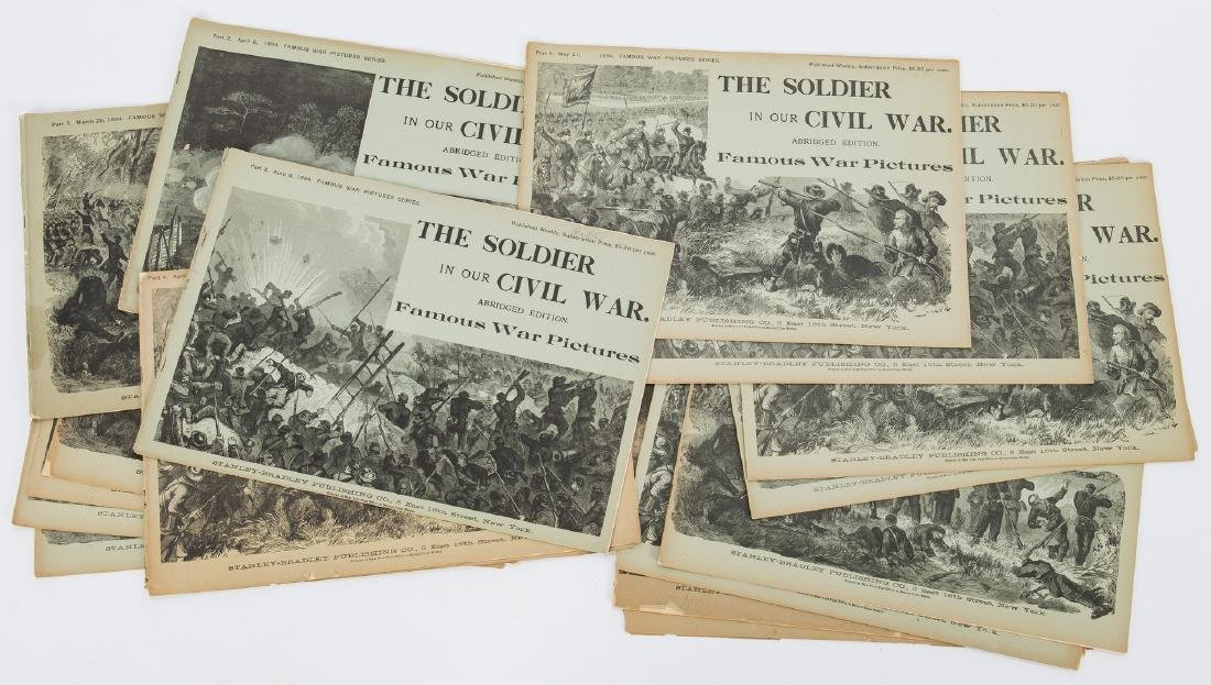 21 Civil War Related Paper Items, including Harper's - 9