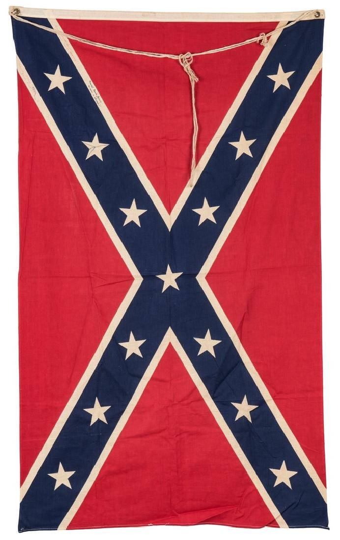 3 Mid 20th Cent. Confederate Reunion Flags - 2