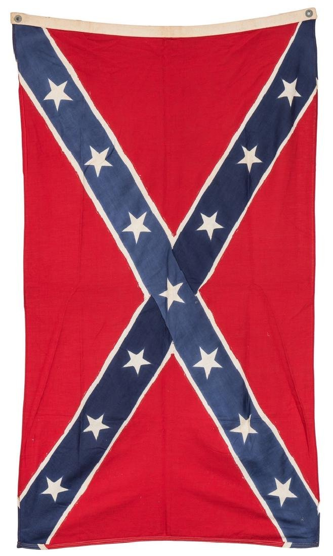 3 Mid 20th Cent. Confederate Reunion Flags - 3
