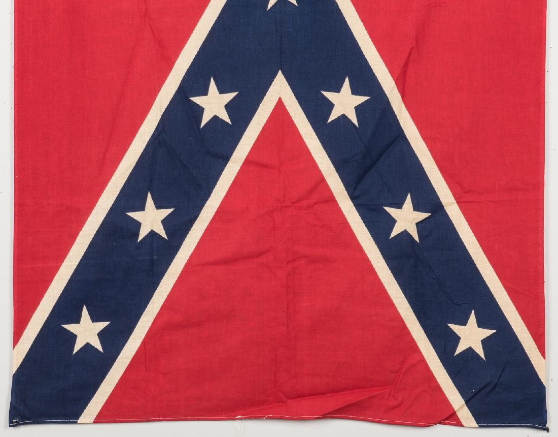 3 Mid 20th Cent. Confederate Reunion Flags - 6