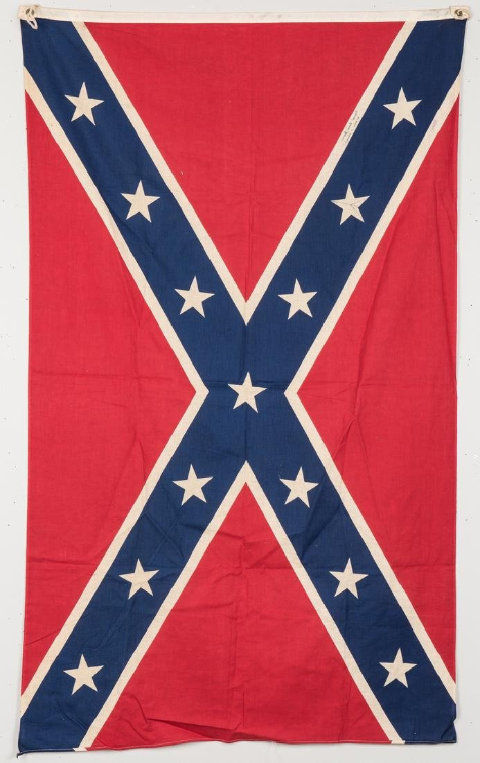 3 Mid 20th Cent. Confederate Reunion Flags - 9