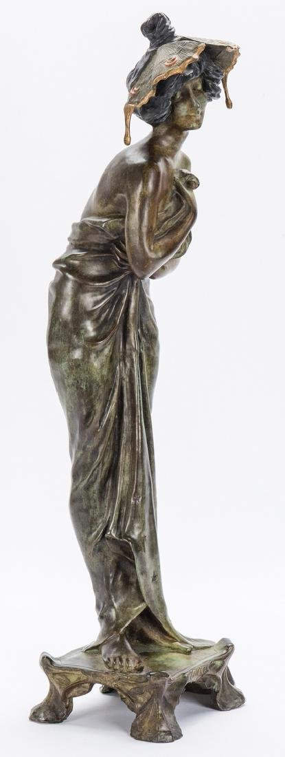 Art Nouveau Bronze, after Lucien Alliot - 2