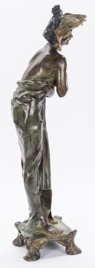 Art Nouveau Bronze, after Lucien Alliot - 5
