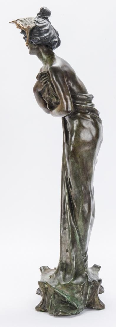 Art Nouveau Bronze, after Lucien Alliot - 7