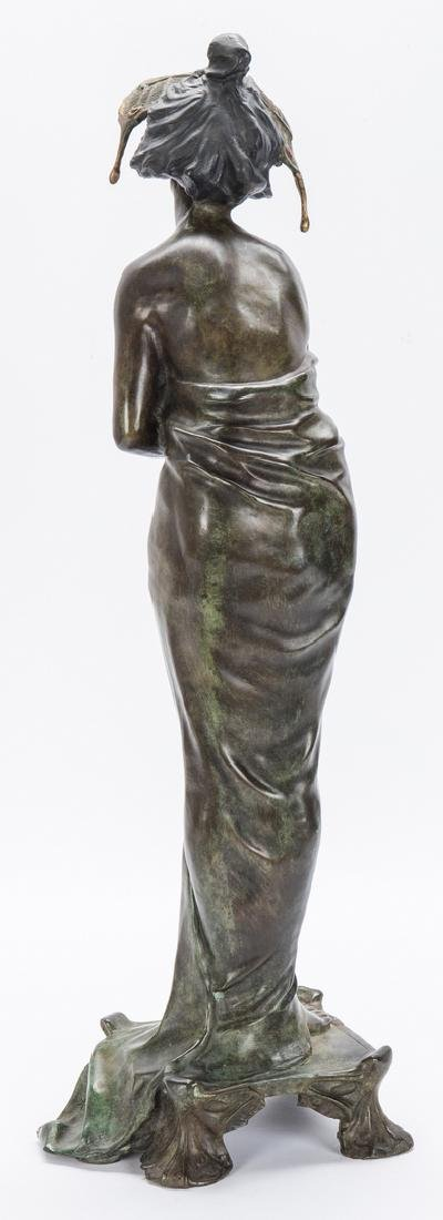 Art Nouveau Bronze, after Lucien Alliot - 8
