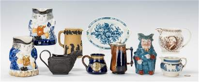 10 Assorted English Ceramic Items, incl. Wedgwood