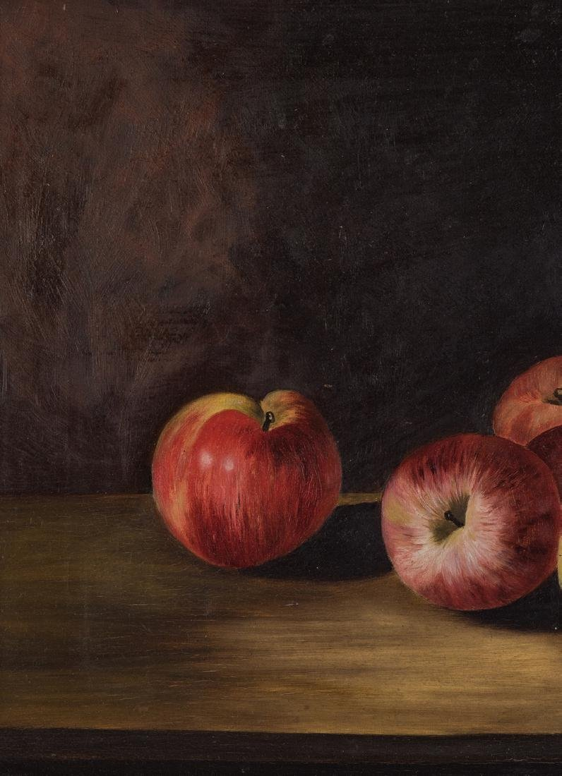 Still Life with Apples O/C, signed Ewing - 3